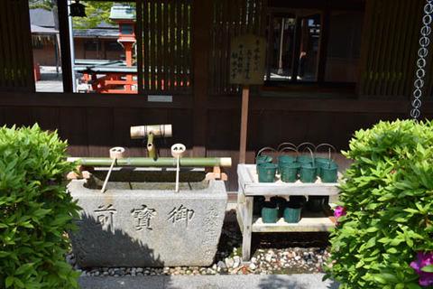 滄海神社-供え水-バケツ