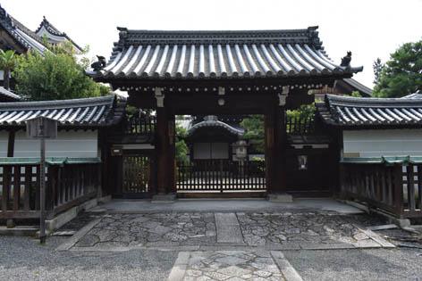 龍泉庵-表門