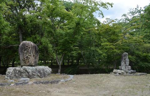 天神島-嵯峨碑