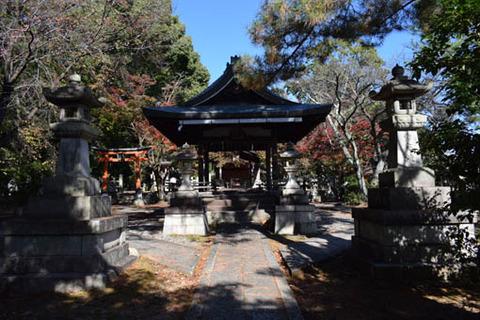 竹中稲荷神社-拝殿