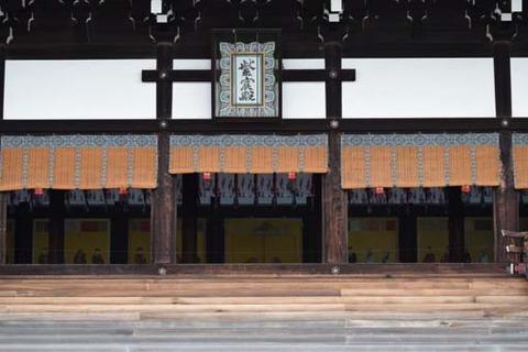 紫宸殿-内部