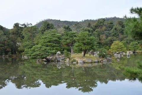鏡湖池-葦原島