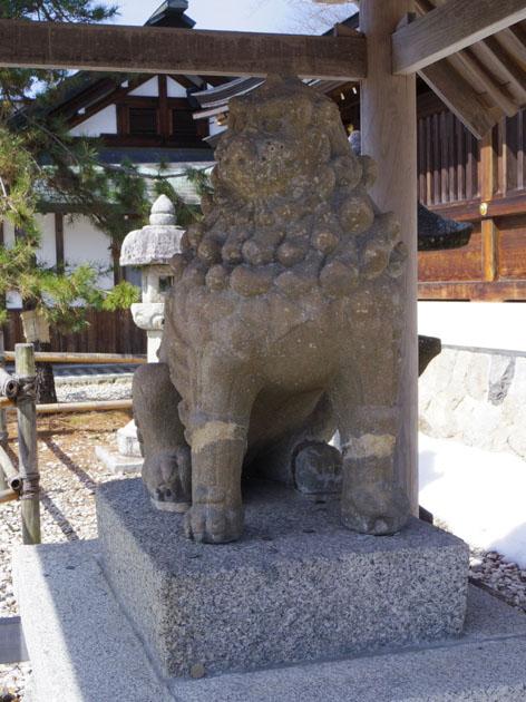 狛犬-左-2