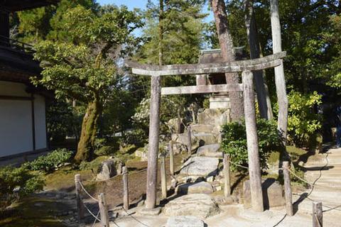 八幡社-鳥居