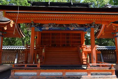 九所明神社-中殿