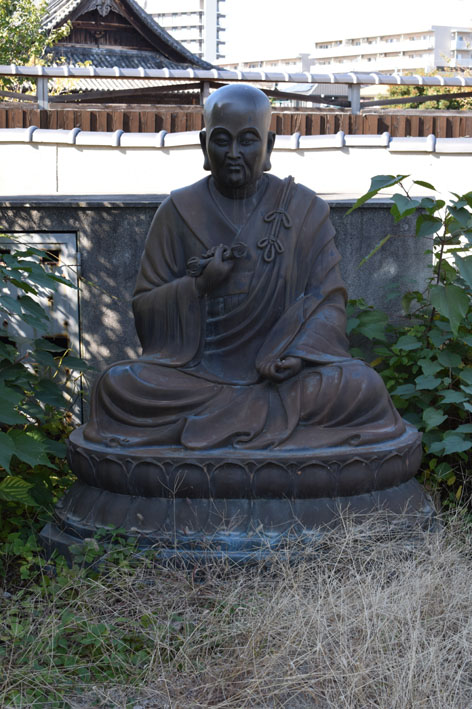 三重塔-付近の弘法大師
