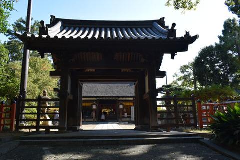 大海神社-門