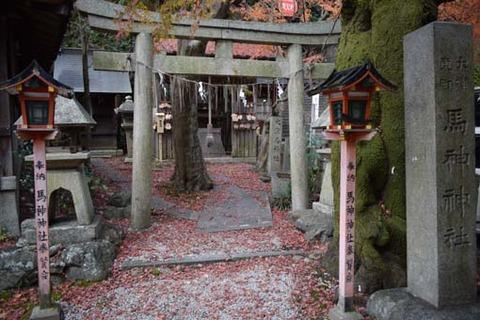 馬神神社-鳥居