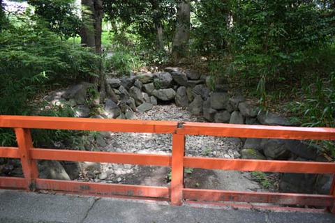 あけ橋-涸れ沢