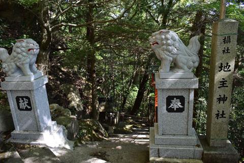 地主神社-入口