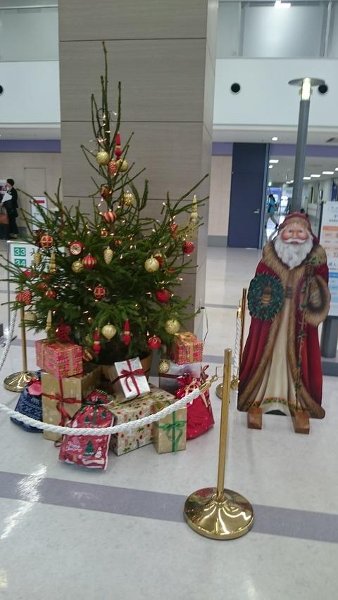 病院クリスマス