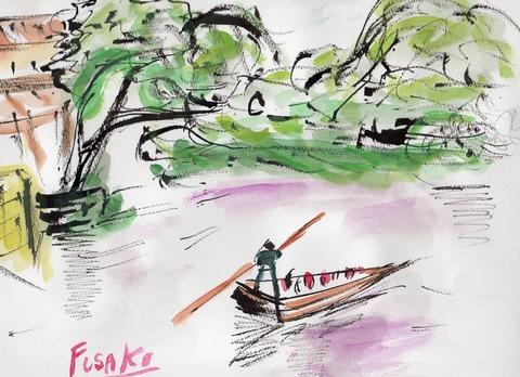 柳川の水郷