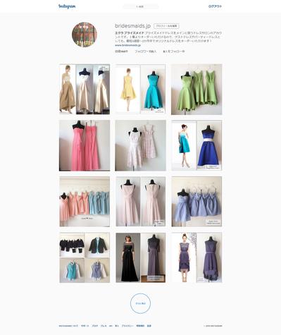ブライズメイド instagram 格安ドレス レンタル