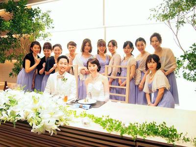 ブライズメイド 2015 結婚式 八芳園 国内 日本