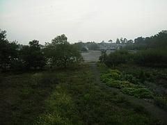 2010年09月18日 帰省 実家からの風景@朝5時