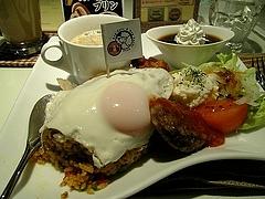 パンジャ&たんぽぽ 通院後のドッグカフェにて  4