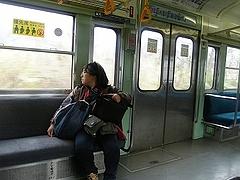 2010年4月4日 長瀞散策 閑散とした秩父鉄道