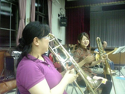 Joyful Sounds Jazz Orchestra (Trombone Section) 2009.08.01