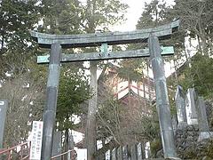 2010年3月20日 東京都青梅市 御嶽山散策 御嶽神社入口