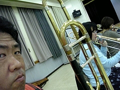 リハーサル JoyfulSoundsJazzOrchestra 2010年12月04日 1