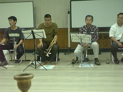 Joyful Sounds Jazz Orchestra (Trumpet Section) 2009.08.01