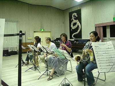Joyful Sounds Jazz Orchestra (Saxophone Section) 2009.08.01