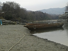 2010年4月4日 長瀞散策 ライン下りはもう終わりました