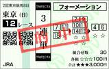 2008年2回東京8日12R テレビ埼玉杯1