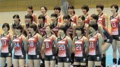 女子バレー 日韓対決で敗れる 石川が2試合連続の活躍見せるも