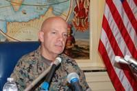 普天間移設の進展次第=海兵隊のグアム移転−米軍高官