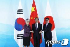 北京で会談の日中韓外相、「3か国協力必要」で一致