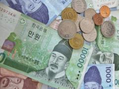韓国 ウォン、対米ドル相場で安値更新 1ドル、1223.91ウォン