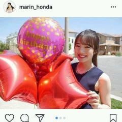 本田真凜、18歳誕生日を報告「美人過ぎる」
