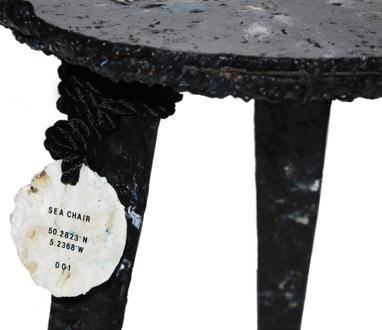 Sea chairの原料採取場所の緯度、経度