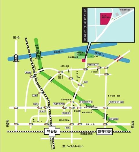 堆肥化施設 地図 オリジナル