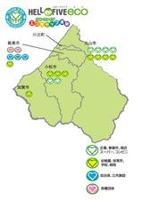 加賀地区回収マップ