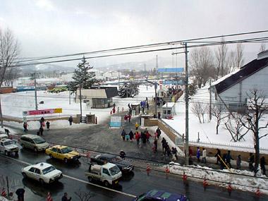 雪まつり真駒内会場入口