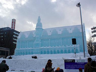 雪まつりライプチヒ旧市庁舎