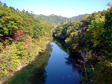 百松沢・豊平川1