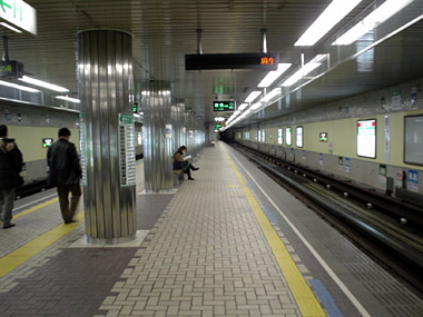 北24条駅ホーム2