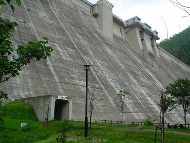 定山渓ダム2