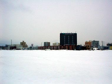 東札幌駅跡地