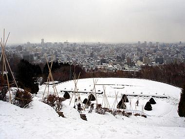 旭山記念公園3月1