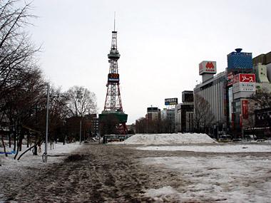 大通公園06年2月