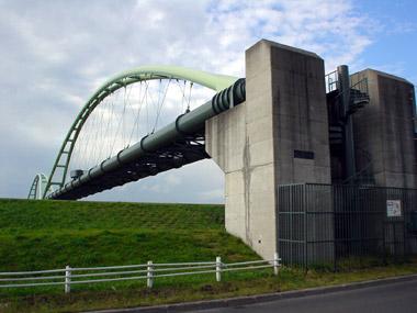 豊平川第二水管橋2