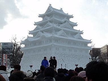 雪まつり名古屋城