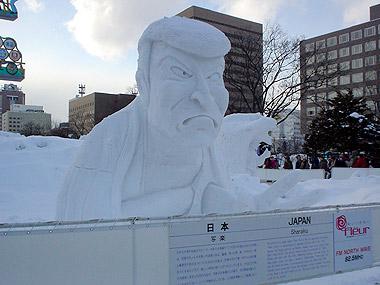 雪像コンクール日本