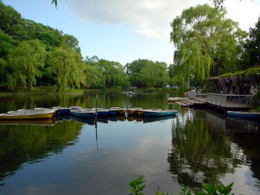 月寒公園ボート池