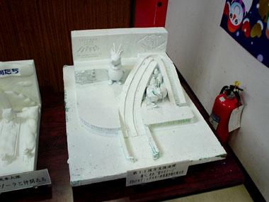 雪まつりノルッキー模型