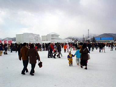 雪まつり真駒内会場